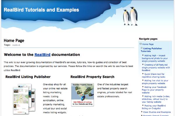 RealBird Tutorials and Documentation