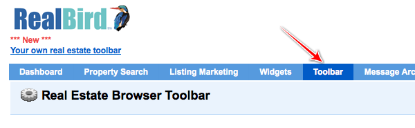 Realbird-real-estate-toolbar