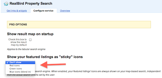 Sticky Icons Configuration Tool