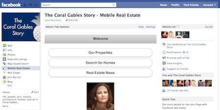Mobile Real Estate Facebook