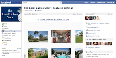 Featured Listings Facebook