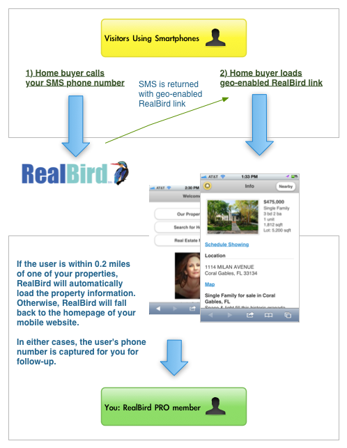 RealBird Geo Enabled Voice Call