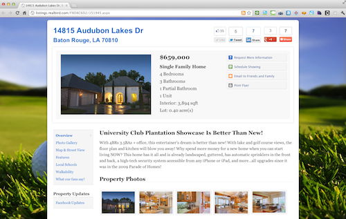 14815 Audubon Lakes Dr Screenshot