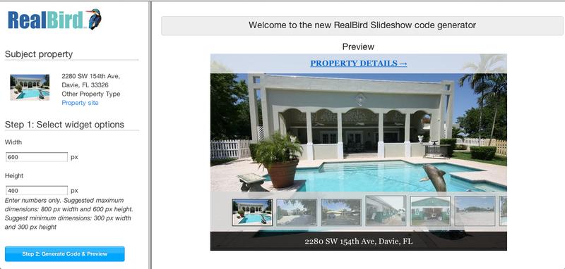RealBird Slideshow Editor