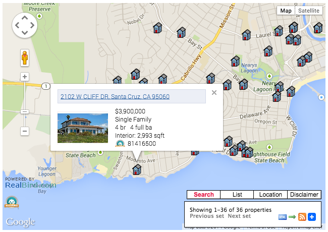 Nearby Homes For Sale Plugin