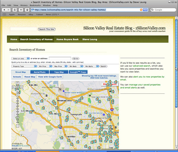 1SiliconValley.com screen shot