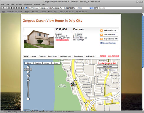 Gorgeus Ocean View Home in Daly City
